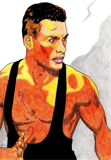 Jean-Claude Van Damme par Toon24